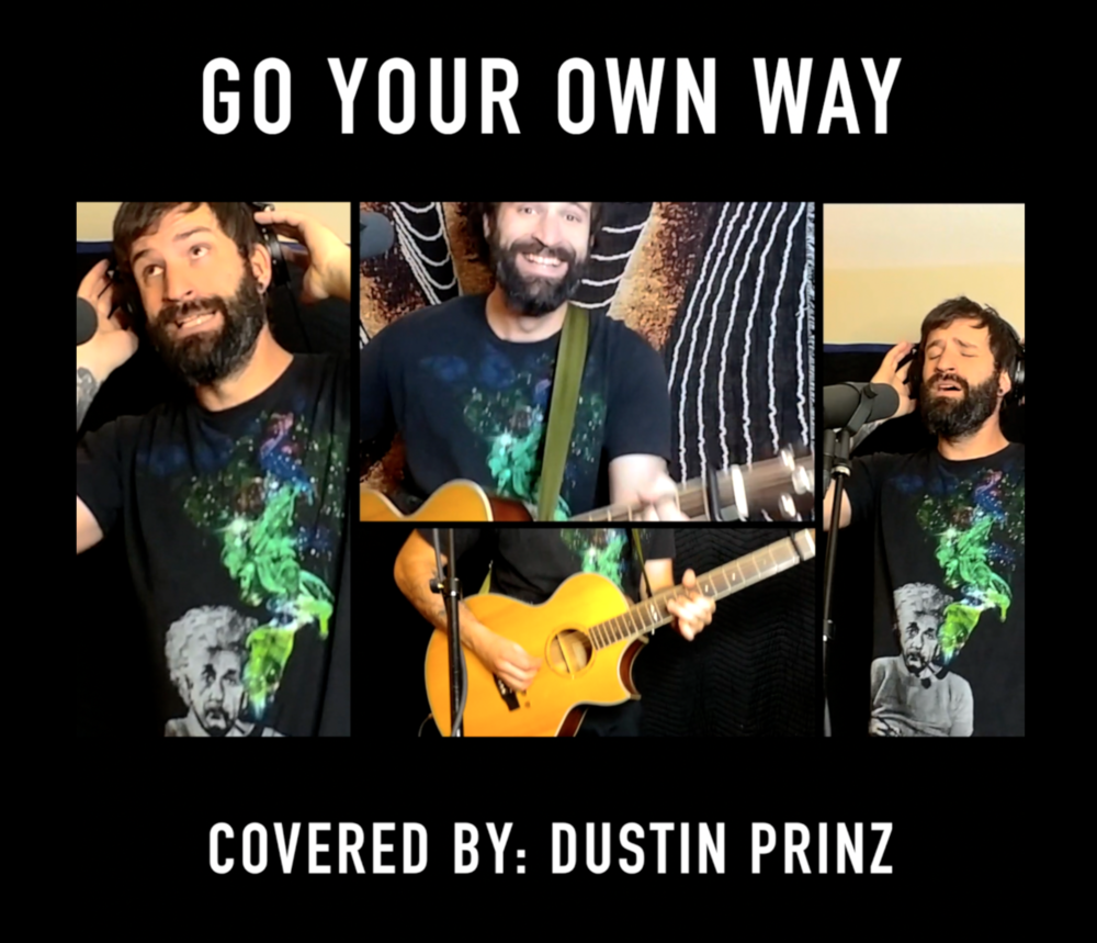 """April 15th 2019 -  Dustin releases his latest video for his """"You Pick It I Play It"""" series!  Go Your Own Way by Fleetwood Mac was the fan favorite!"""