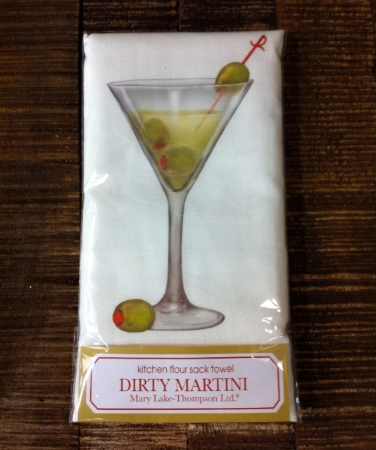 TOWEL, DIRTY MARTINI