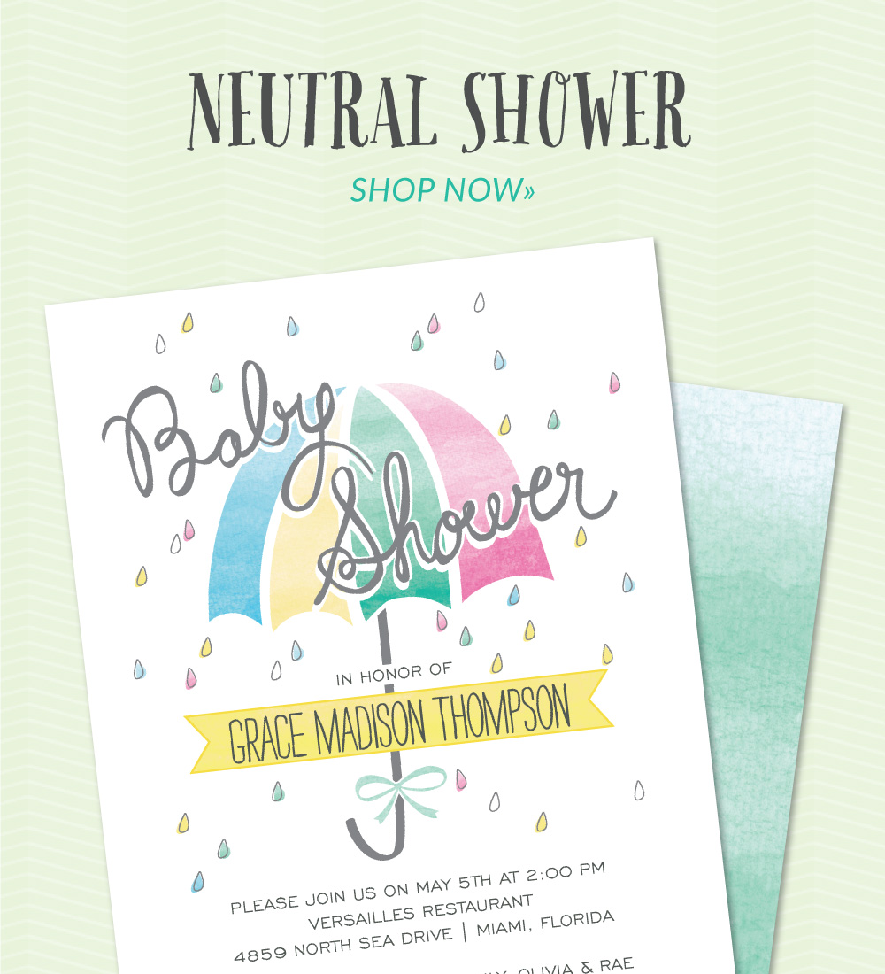 invitation - baby shower