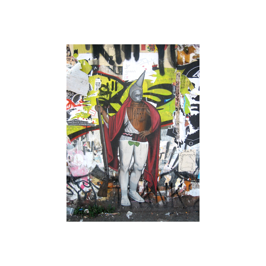 Valencia Street wall art