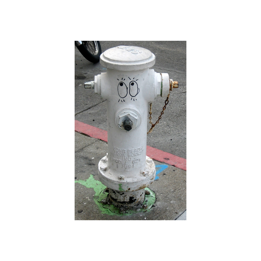 Treat Street fire hydrant art