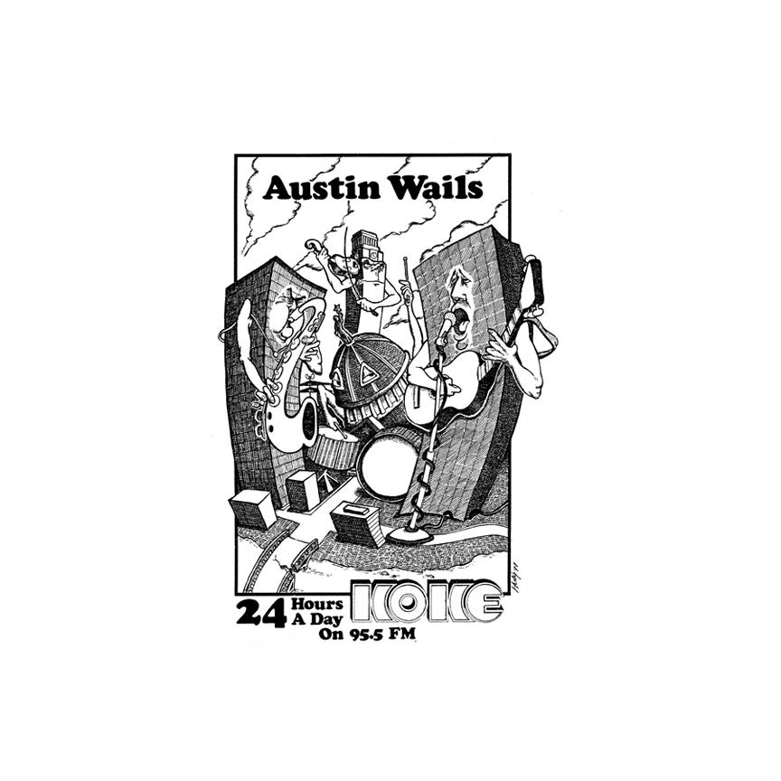 Austin wails on KOKE