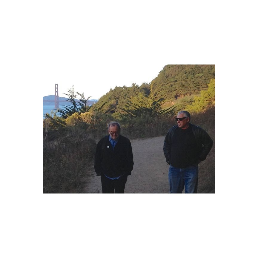 Enrico & Brian at Lands End