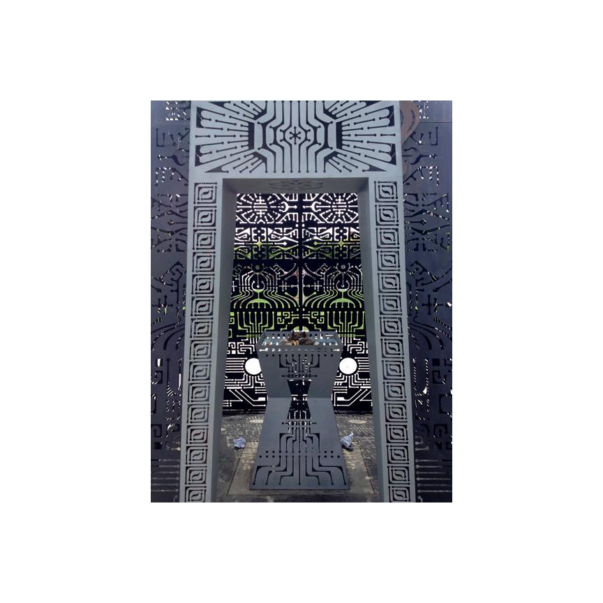 Octavia Street Park Temple