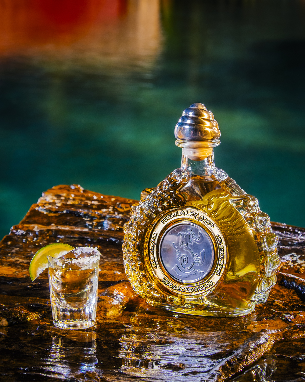 Tequila Bottle Leiper Photography Macon Leiper Houston Photographer Commercial Photographer Woodlands Product Photographer