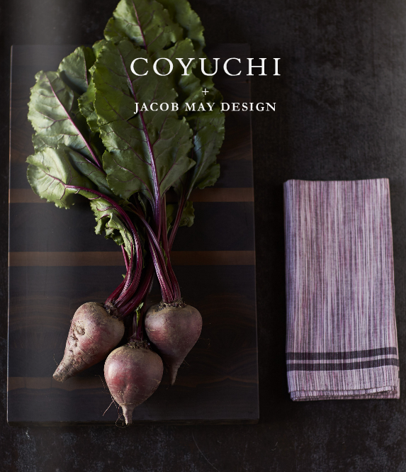 Coyuchi: Meet the Artist Jacob May Design