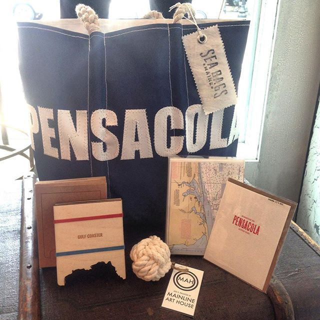 Celebrate all that Pensacola has to offer! This weekend's Seafood Festival is the perfect excuse to come downtown, explore the city and check out Mainline's latest products!! #Pensacola #upsideofflorida #lovefl #shoplocal #smallbusiness #retail #stationery #sogopcola #downtownpensacola #mainlinearthouse #florida #shopping #menswear #mensfashion #mensstyle #streetstyle #style #fashion #ootd #wiwt #shoppalafox #mainlinepensacola #seabags #seabagsighting #saplingpress #reedwilson #perchshop #pagestationery
