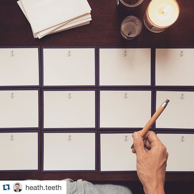 Our Local Navigator #stationery is the perfect way to send a little slice of #Pensacola to a loved one. #repost from @heath.teeth