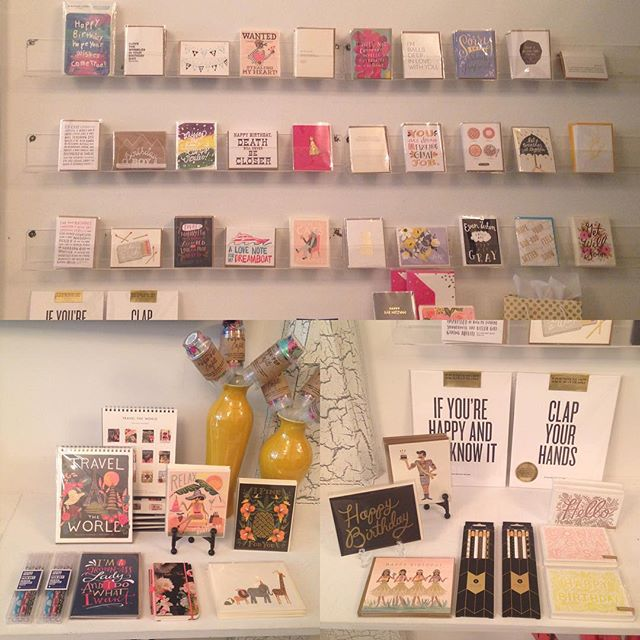 Have you checked out our new #StationeryBar? It's loaded with all the paper goodness that you've come to love! Great cards, gifts, stationery and more from @riflepaperco @sugarpaperla @wishboneletterpress @thimblepress @rbtlpaper @1canoe2 @thepapercub and so many more! Check it out today!  #stationery #paper #finepaper #papersnob #holiday #Pensacola #letterpress #DowntownPensacola #moderngeneral #mainlinegeneral #followback #f4f #l4l #riflepaperco #sugarpaper #thimblepress #papercub #madeinamerica