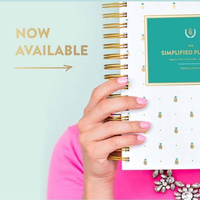 Still looking for an @emilyley #simplifiedplanner? We have #GoldPineapple and #MintDot available! Visit our web store (link in profile) today! #wehaveEL #mainlinearthouse #pensacola #wereback