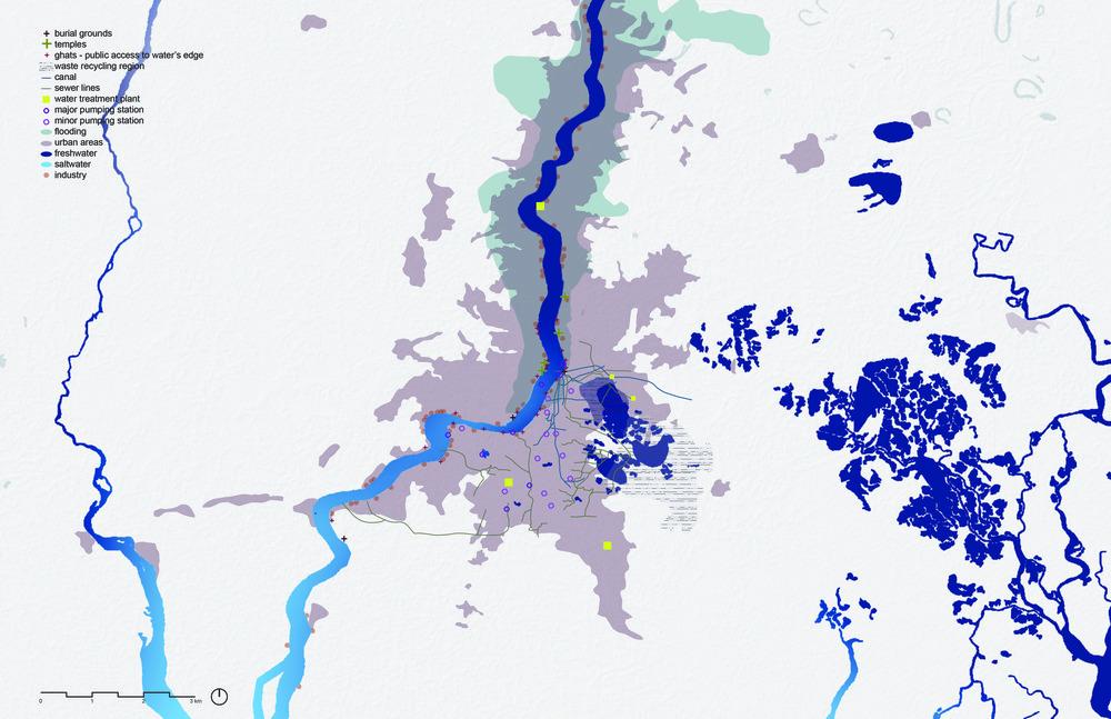 Hugli River Through Kolkata | Kolkata, India