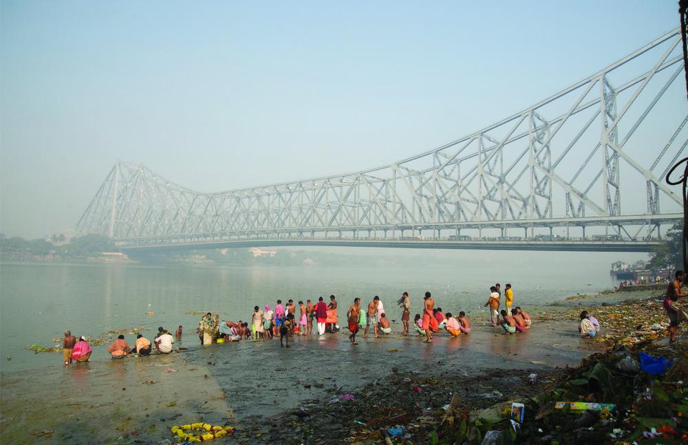 Kali Temp Ghat | Hugli Delta Distributary | Kolkata, West Bengal, India
