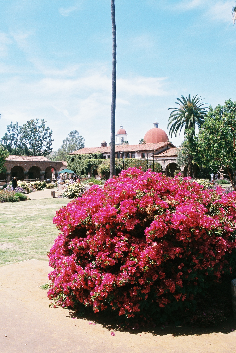 The Mission at San Juan Capistrano. The most beautiful location.