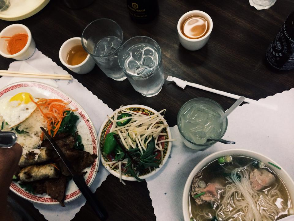 Best Vietnamese food we've ever had. Ironically, in Chinatown.