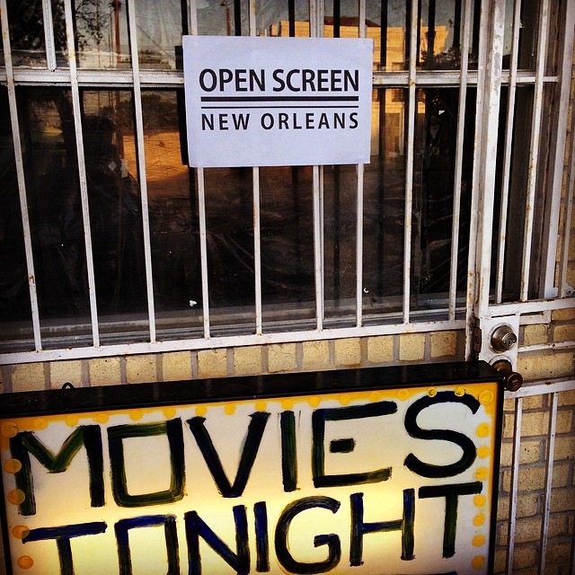 Open Screen, New Orleans - April 21, 2014