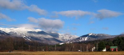 Mt. Mansfield and Spruce Peak from the Mountain Road in Stowe, VT