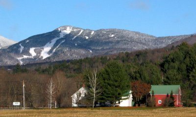 Spruce Peak from the Mountain Road in Stowe, VT