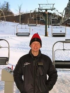 Phil Gwinn, Liftie at Stowe Mountain Resort