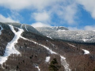 Mt. Mansfield early in the week -- it was a beautiful one!