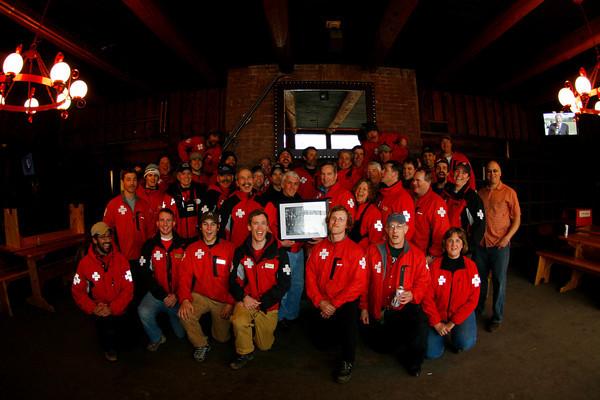 The 2008-2009 Mt. Mansfield Ski Patrol