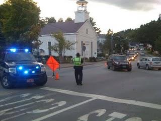 Main Street, Stowe, VT: We got a block party goin' on!