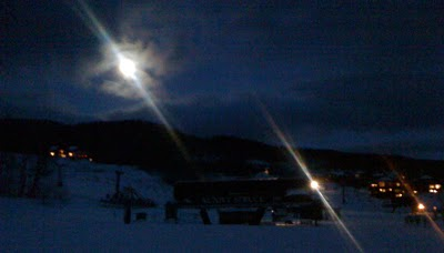 New Year's Eve - At the end of Sweep - 4:58 p.m. at Stowe Mountain Resort