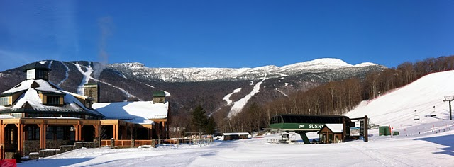 Stowe Mountain Resort Panoramic Photograph