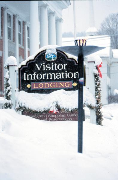 Stowe Vermont Visitor Information - Winter Scene