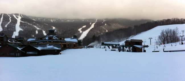 Mt. Mansfield Panorama