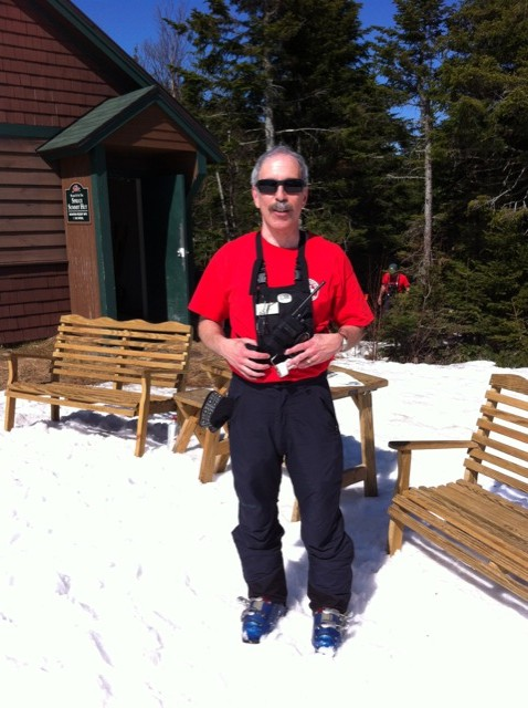 Charlie Aronovici at Stowe Mountain Resort 3-21-2012