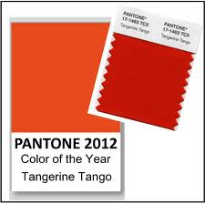 Pantone 2012 Color the Year: Tangerine Tango