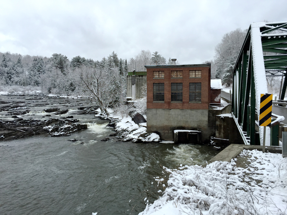 Cady's Falls Bridge over the Lamoille River