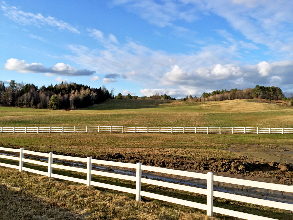 Rt. 15 Horse Farm in Hyde Park Village, Vermont