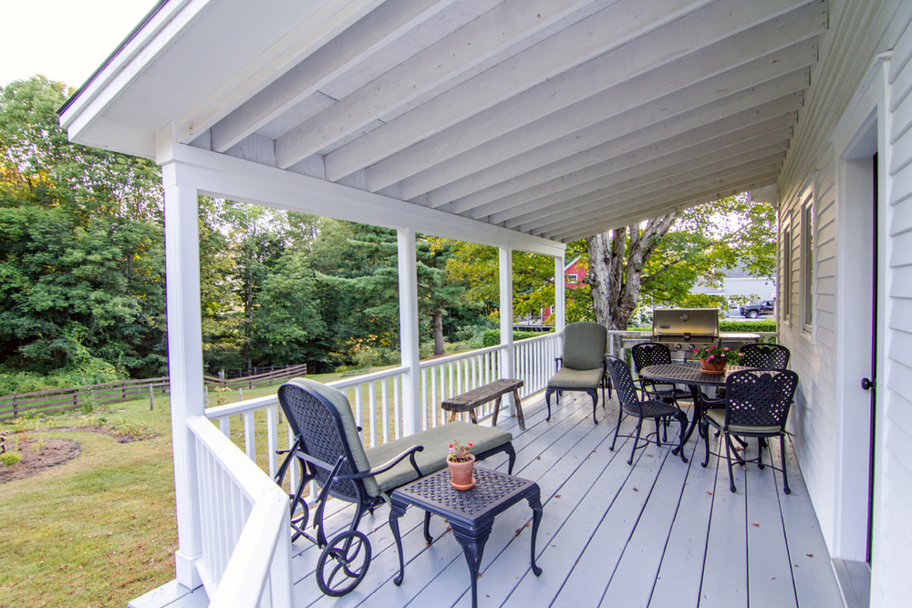 How about dinner on the porch this evening?