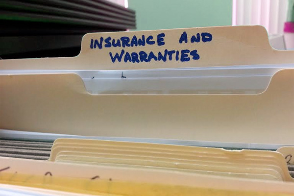 If you're going to file a claim or take a deduction, you'd better have the paperwork to back it up. Image: Liz Foreman for HouseLogic