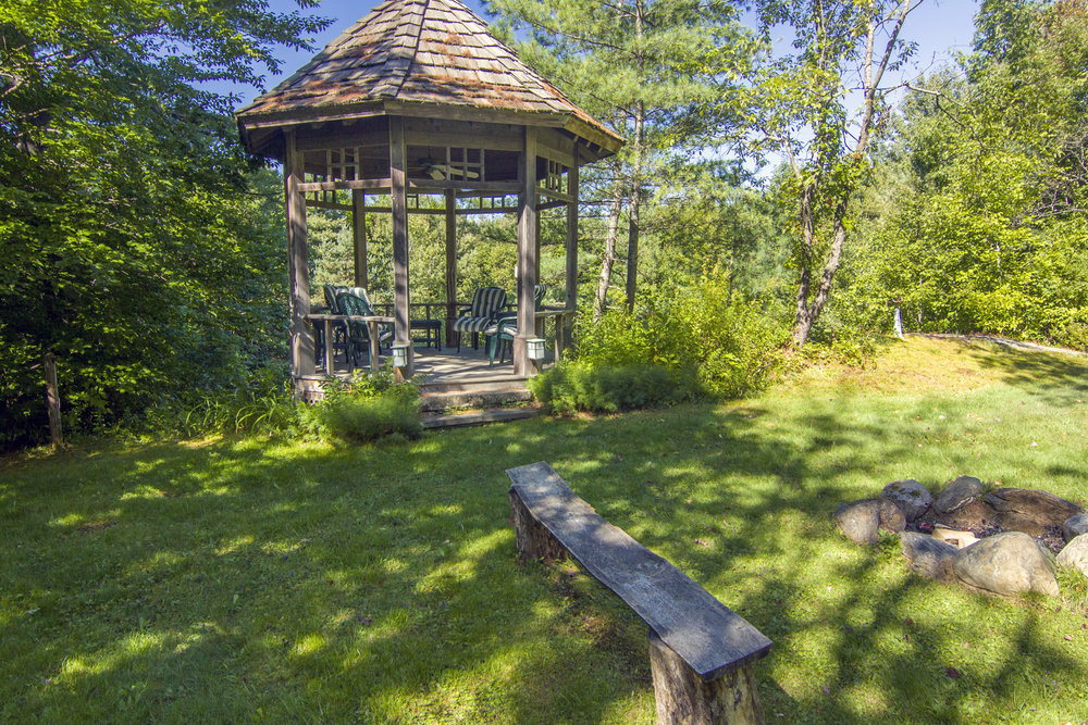 11-Gazebo and Firepit