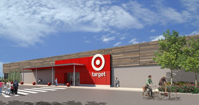 Target has announced plans to open a store in South Burlington's University Mall in October 2018 — the company's first location in Vermont.
