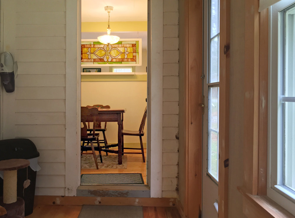 Dining Room from the enclosed porch