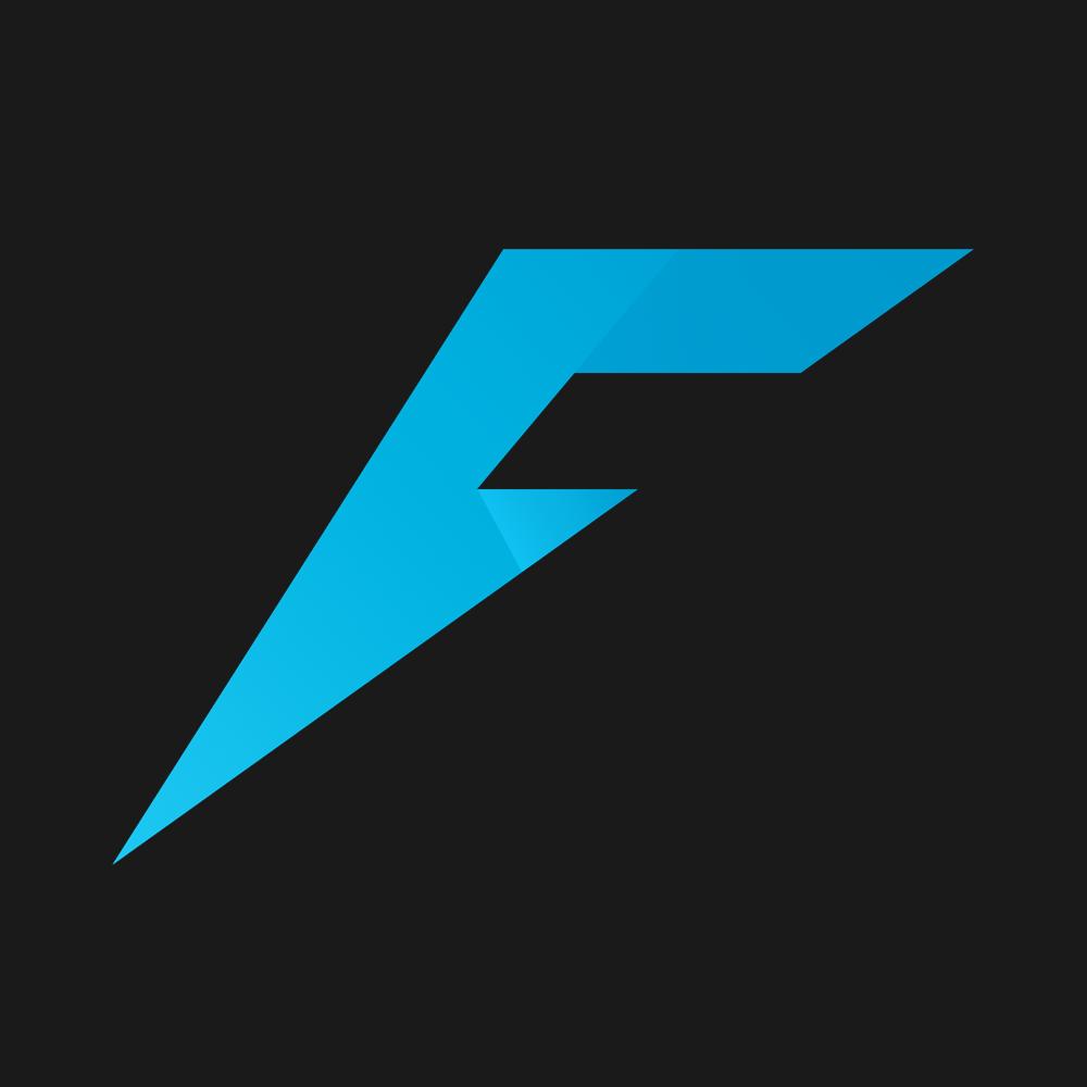 "Logo X (Size = 1000), ""Farlanders Grey"" background."