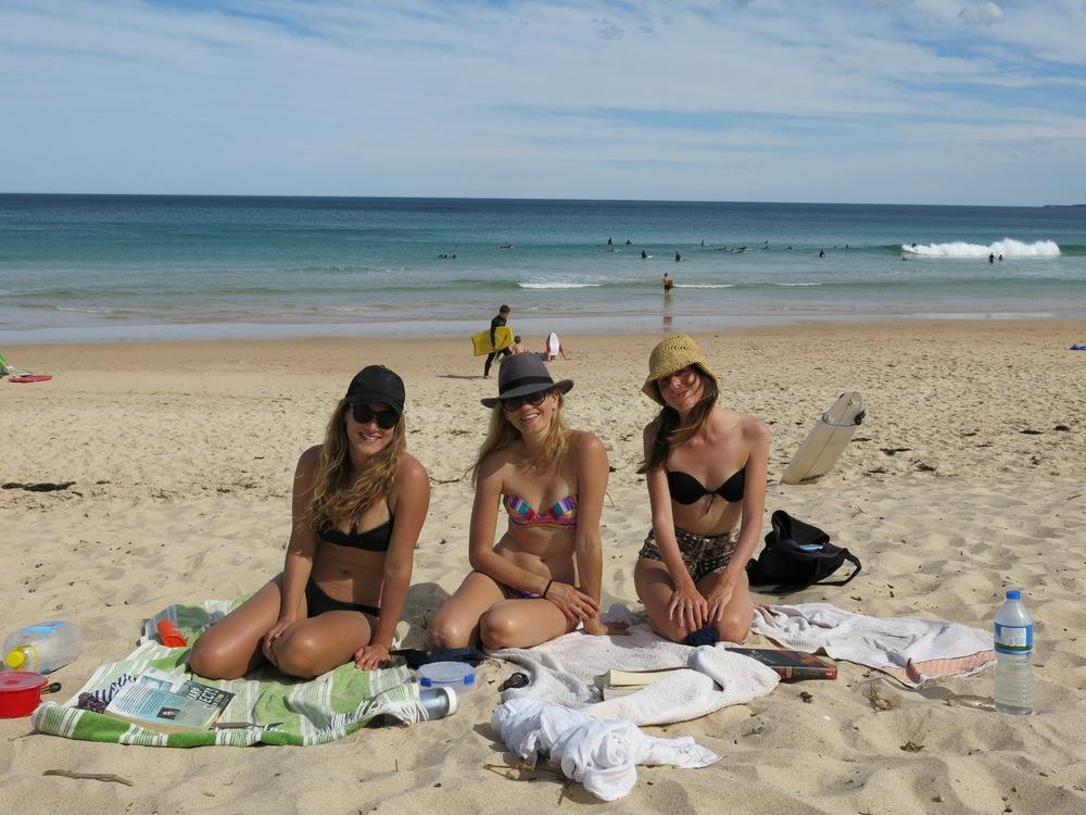 Terrific Trio: Eb, me and Carina