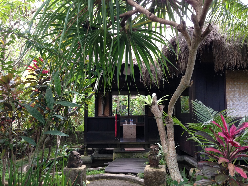 Our garden villa at Ubud Sari