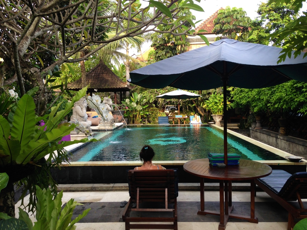 Beautiful pool at Ubud Aura
