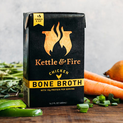 Kettle & Fire Bone Broth - I typically like to make bone broth from scratch, however this is a fantastic store-bought option. Rich in natural gelatin, bone broth is one of the best gut-healing foods out there! Use in soups, curries, stews and crock pot meals. Kettle & Fire has chicken and beef bone broths - both are delicious!