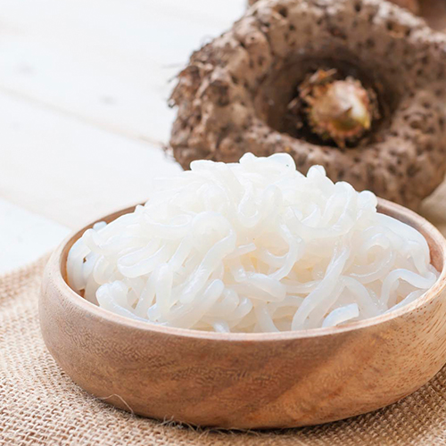 Shirataki Miracle Noodles -Angel Hair - These noodles cook in 2 minutes so they're a go-to for quick weeknight meals. Shirataki is Japanese for yam starch which is full of prebiotic fiber, aka food for the beneficial gut bacteria.