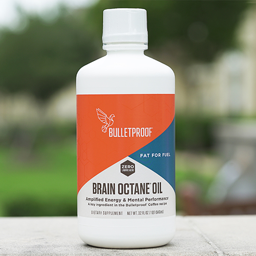 Bulletproof Brain Octane Oil - MCT oil is my favorite healthy fat for adding to smoothies, tea, coffee and using as salad dressing. It's known for its ability to suppress appetite, boost metabolism, promote mental clarity and support the immune system. I only use/recommend Bulletproof's Brain Octane because it converts to ketones much more rapidly and is easier on digestion.