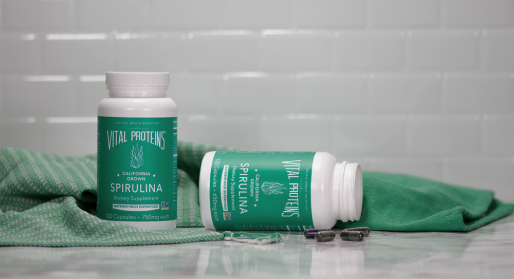#1 Spirulina - Spirulinais a type of blue-green microalgae, or tiny seaweed, found in tropical and subtropical freshwater lakes.