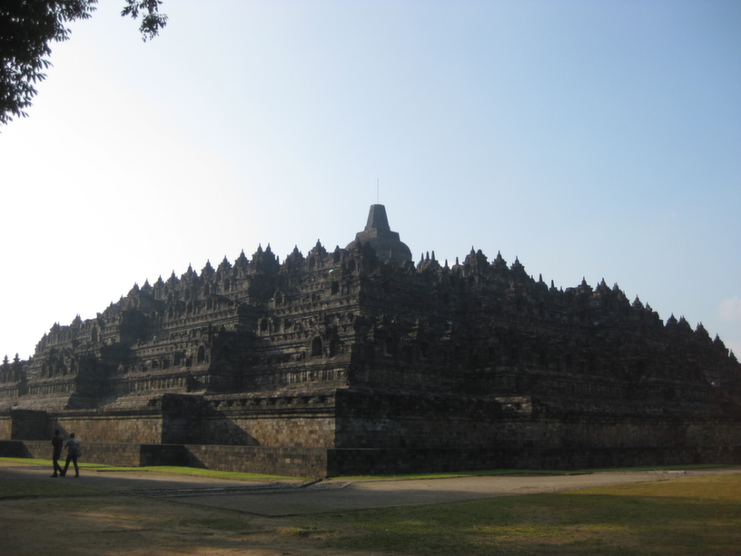 Borobudur Mahayana Buddhist temple near Yogyakarta dating back to the 9th century, a UNESCO world heritage site
