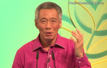 PM Lee at NDR 2013, Courtesy: PMO
