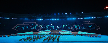 Closing ceremony at 27    th     SEA Games, Courtesy:       http://www.27seagames2013.com/