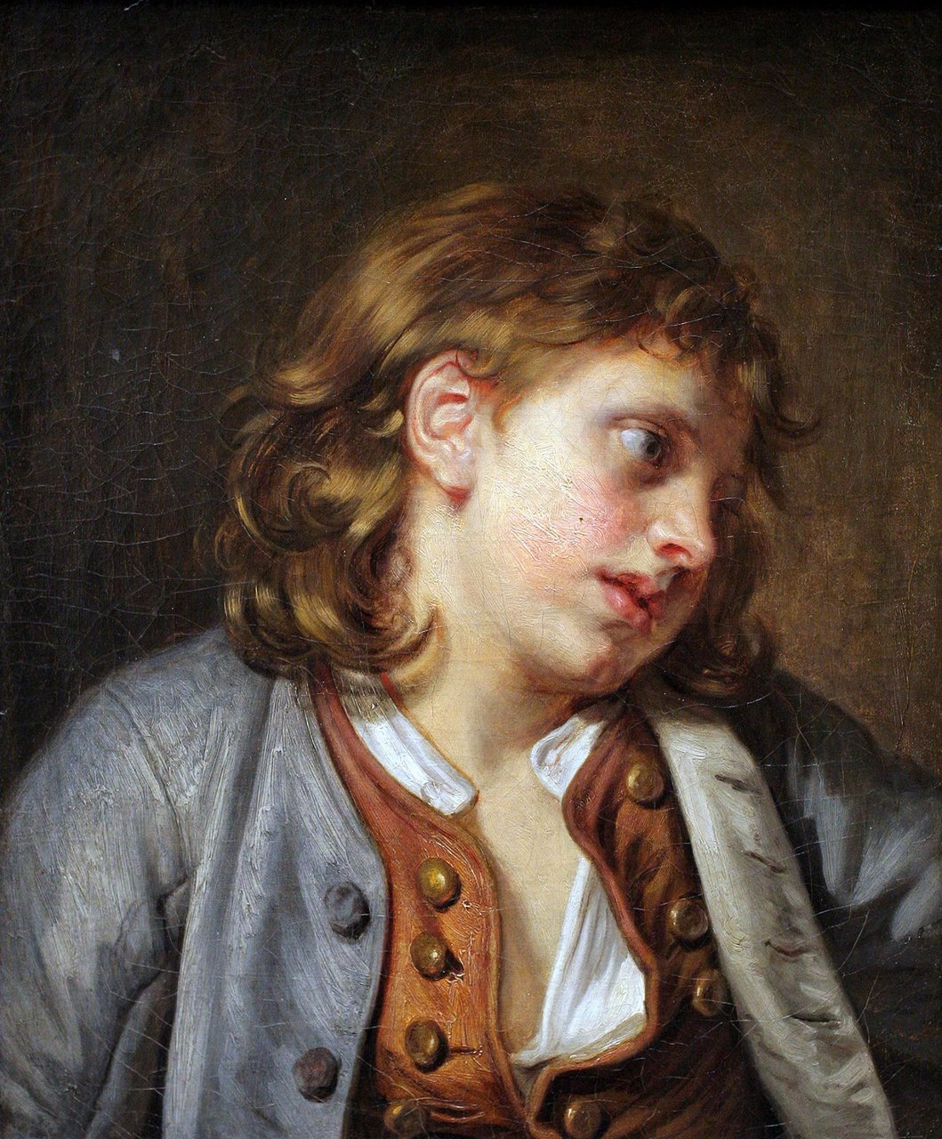 Jean-Baptiste Greuze A Young Peasant Boy, ca.1763 oil on canvas 18 7/8 x 15 3/8 inches (47.9 x 39.1 cm) Metropolitan Museum of Art, New York City